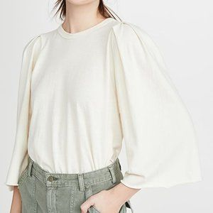 NWT The Great The Bell Sleeve Tee 0